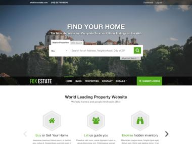 FoxEstate - Real Estate WordPress Theme