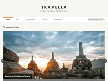 Travella - Travel Agent WordPress Theme