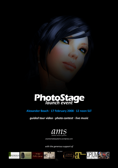 PhotoStage Launch Event invite