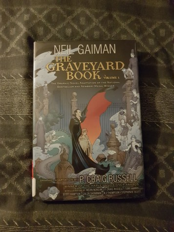 The Graveyard Book (illustrated) Vol. 1
