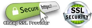 Cheap SSL provider