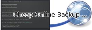 Cheap online backup