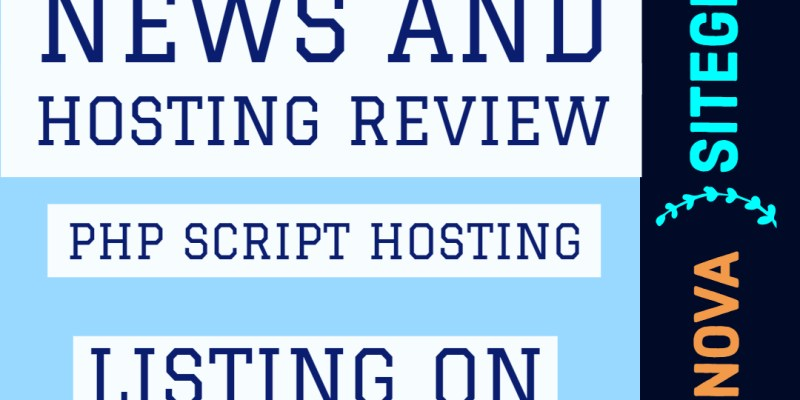 PHP script Hosting