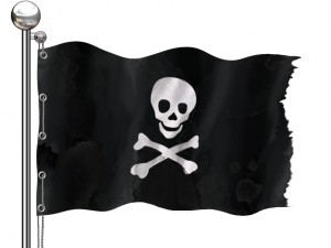 Pirate Bay flag