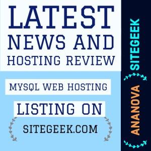 MySQL Web Hosting