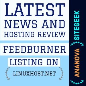 Feedburner web feed management provider