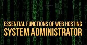 Web Hosting System Administrator