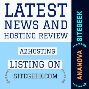 Hosting Review A2Hosting