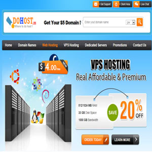 Hosting Review Dohost