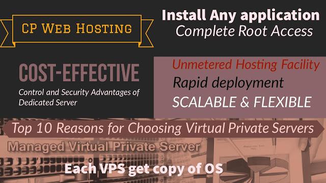 Choose Virtual Private Server