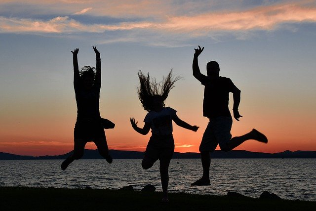 Teens. happiness, discovery