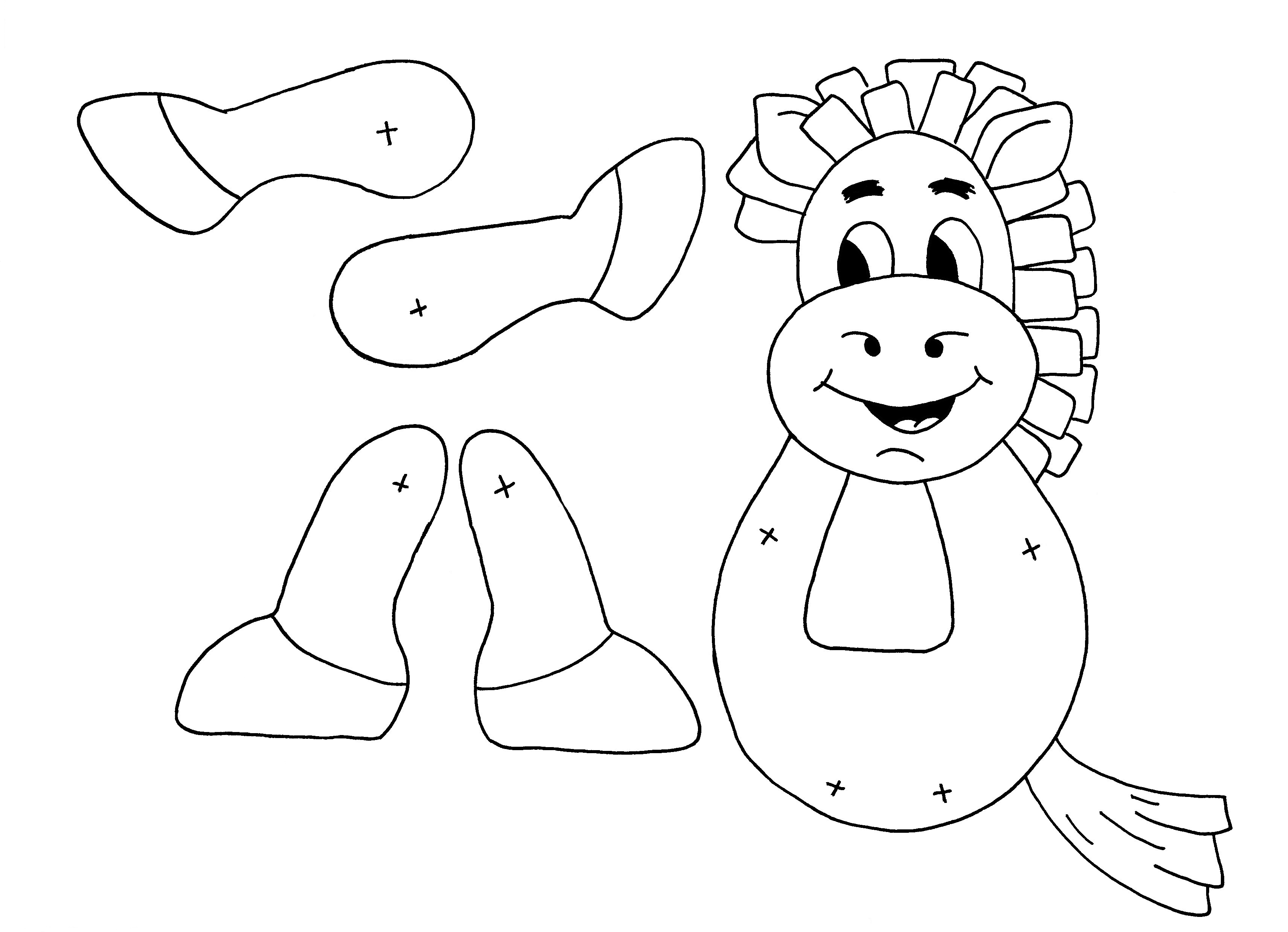 Paper Bag Coloring Pages