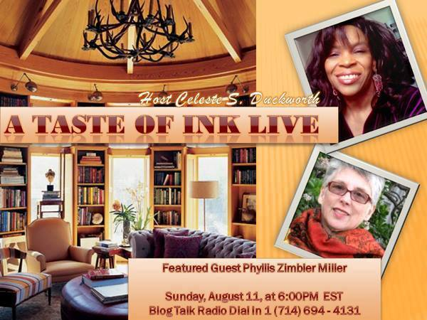 A Taste Of Ink LIVE with Phyllis Zimbler Miller