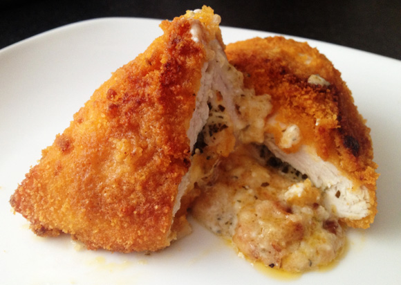 Double Stuffed Chicken