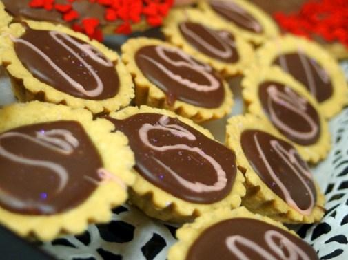 Chocolate Shortcake Bites, Snuggle Muffin
