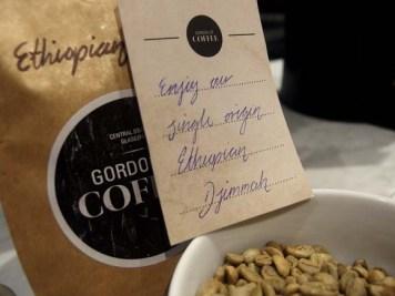Gordon Street Coffee- Tasting Notes