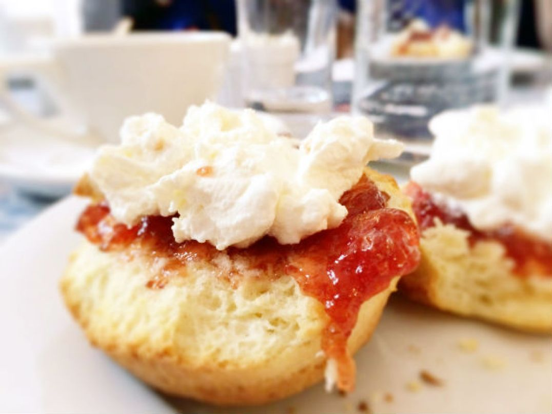 Currys in the Kitchen- Scones with Cream & Jam