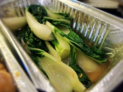 Stir-Fry Pak Choi with Garlic