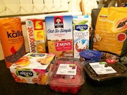 Ananyah- Waitrose Healthy Food Swaps- Breakfast Snacks