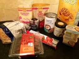 Ananyah- Waitrose Healthy Food Swaps- Recipe Ingredients