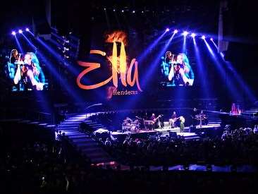 Ella Henderson- Take That Support Act Glasgow 2nd May 2015