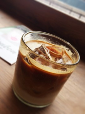 72 hours in London- Shoreditch Grind Iced Coffee