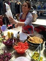 72 hours in London- Spitafields Market Stall