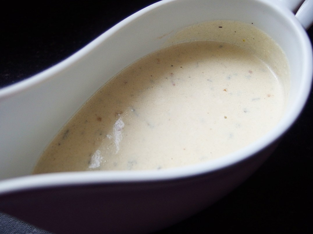 Donald Russell- Gorgonzola Sauce
