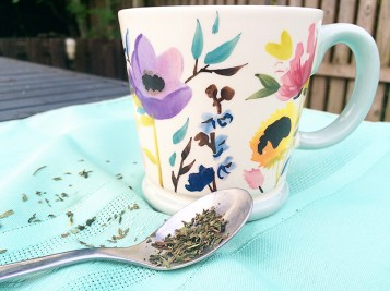 The Tea Makers London- Teacup and Tea Leaves