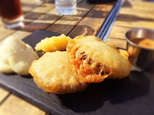 Ananyah- Road Trip Adventures- The Waterfront Haggis and Blackpudding parcels