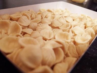 Orecchiette alla Potentina- Orecchiette Pasta Shape