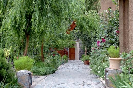 Atlas Mountains - Marrakech-Kasbah du Toubkal Gardens
