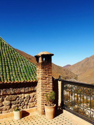 Atlas Mountains- Marrakech- Colourful Mountain House