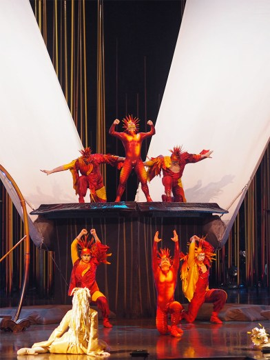 Cirque du Soleil Varekai- Russian Swing Dancers