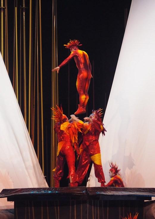 Cirque du Soleil Varekai- Russian Swing Jumping