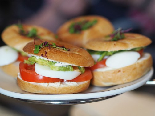 Millennial Mondays at Blythswood Square Hotel- Bagels