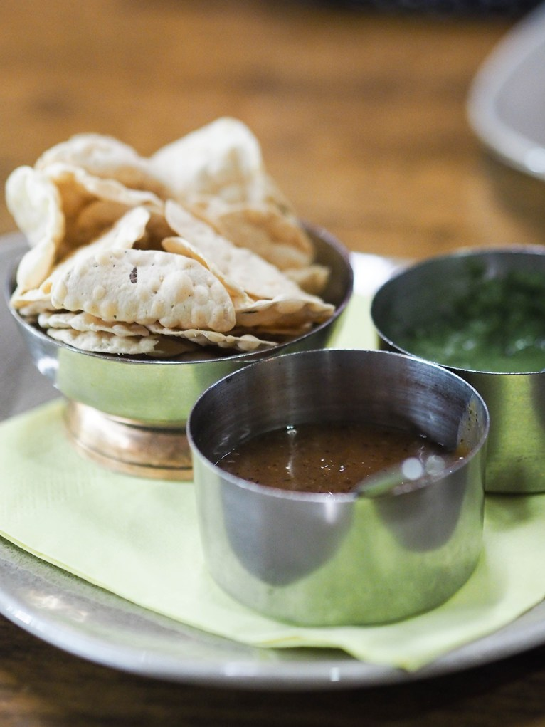 The Dhabba Glasgow- Ananyah- Poppadoms