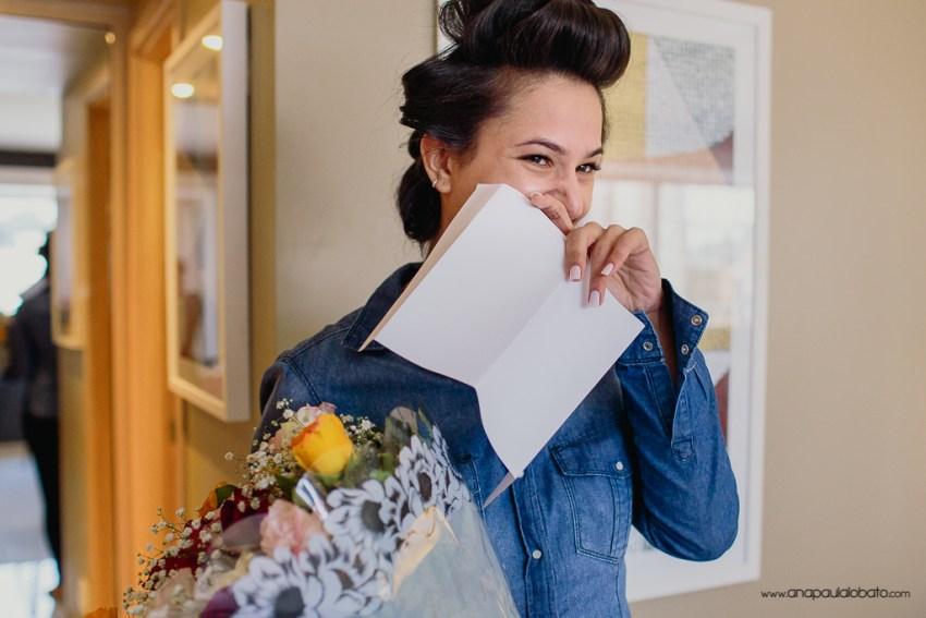 emotion bride getting ready