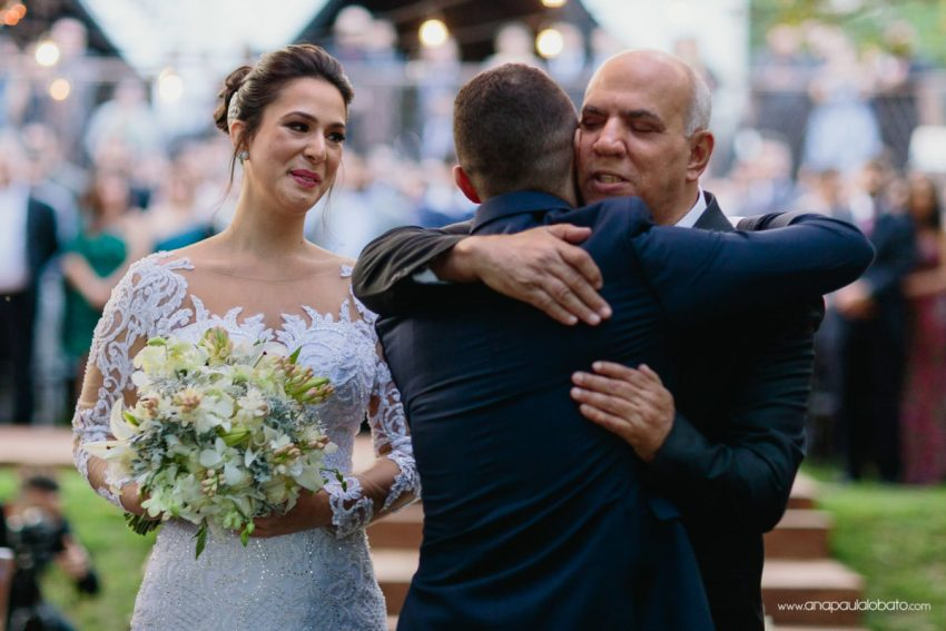 father bride emotional moment ceremony