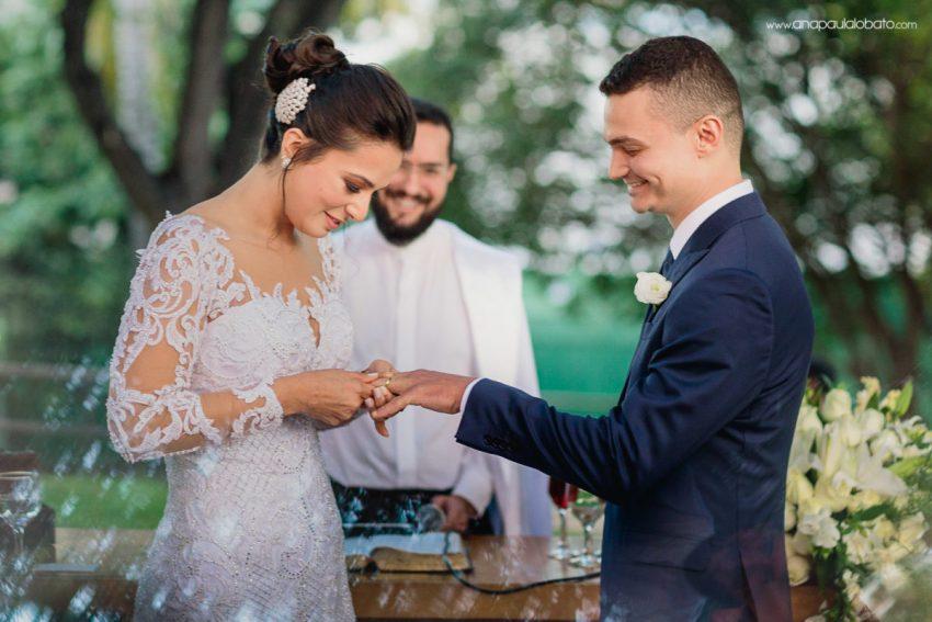 troca alianças casamento