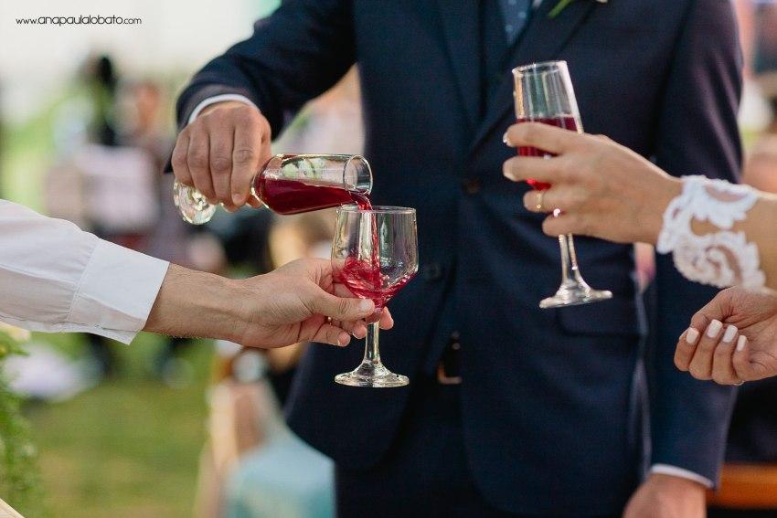 different wedding toast ceremony