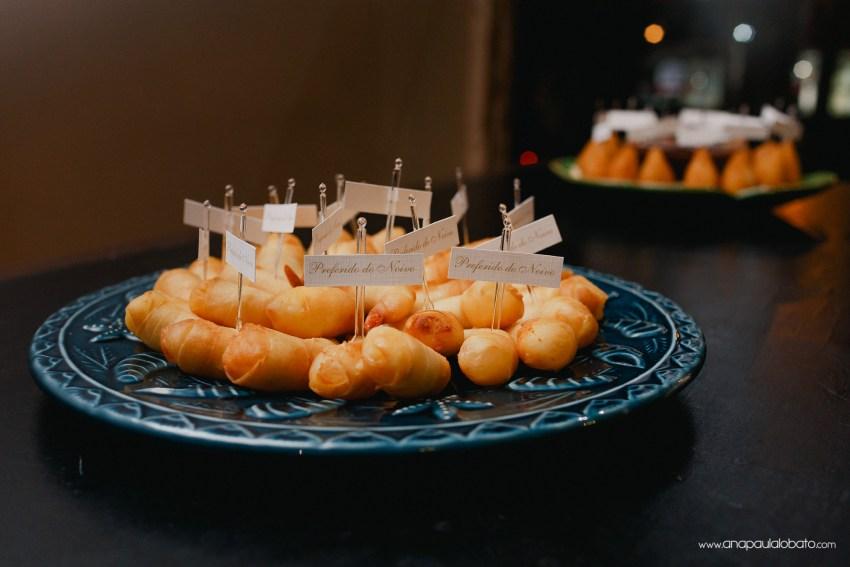comida casamento especial