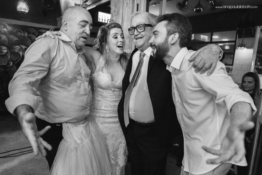grandfather of the bride dancing