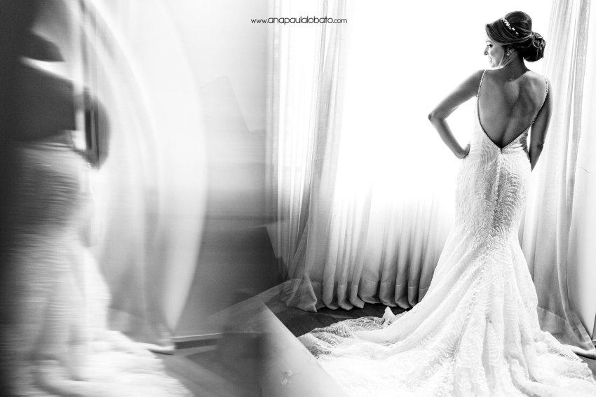 wedding dress inspiration for Gorgeous sunset wedding in Brazil