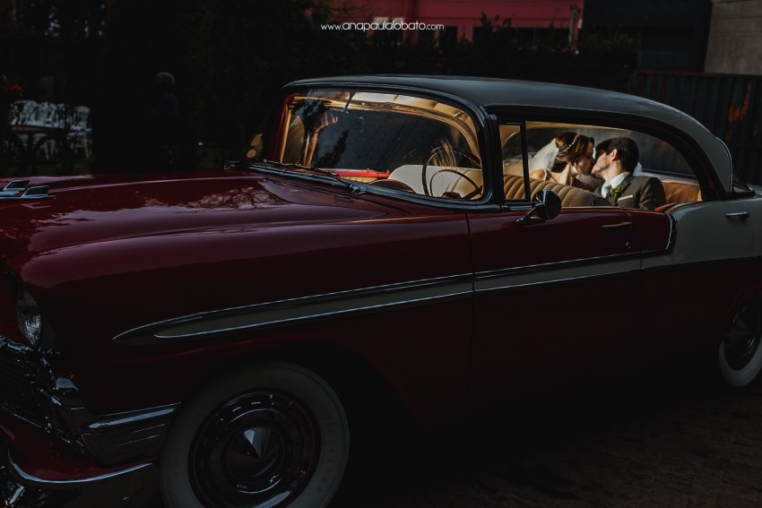 old car for wedding