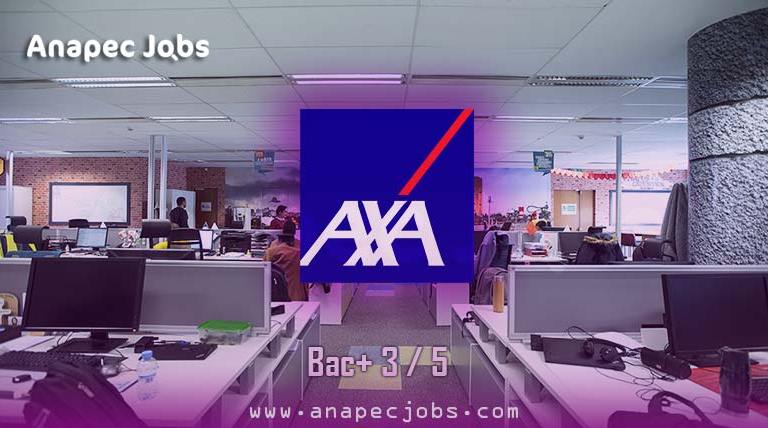AXA Services Maroc Recrutementplusieurs Profils bac+ 3 / bac+5