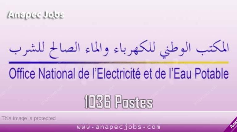 Concours ONEE Branche Electricité 2019 (1036 Postes)