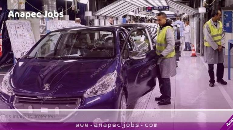 Operateur De Production De L'industrie Automobile 50 poste