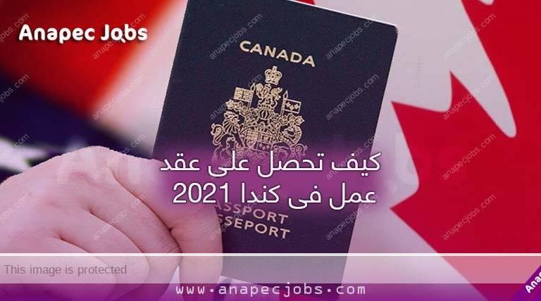 عقود العمل في كندا 2021 وانواع العمل التي يمكن الاشتغال فيها