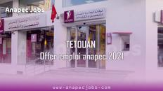 TETOUANoffer emploi anapec 2021